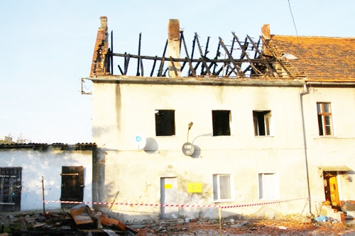 Pogorzelcy, którzy stracili dach nad głową w pożarze pod koniec października, otrzymali już mieszkania socjalne