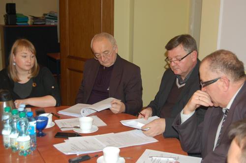 Członkowie komisji szczegółowo omówili projekt budżetu gminy na przyszły rok