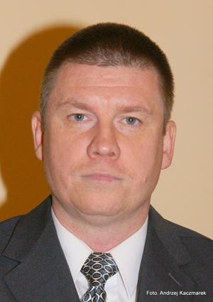 Ireneusz Szałajko przewodniczący Rady Miejskiej Strzelina