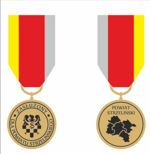 Tak wygląda Honorowa Odznaka Powiatu Strzelińskiego