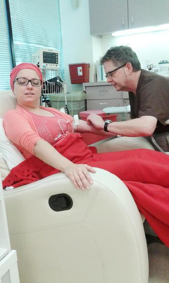 Stan zdrowia Ani Kuczery poprawił się już po kilku dniach terapii w klinice w Houston. Foto: archiwum prywatne