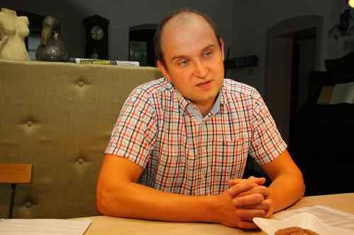 Mariusz Więcławski, kandydat na wójta gminy Przeworno