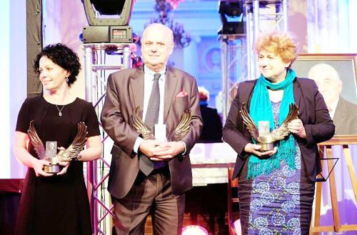 Na zdjęciu prezes Stowarzyszenia św. Celestyna dr nauk med. Krystyna Kobel-Buys (pierwsza z prawej)