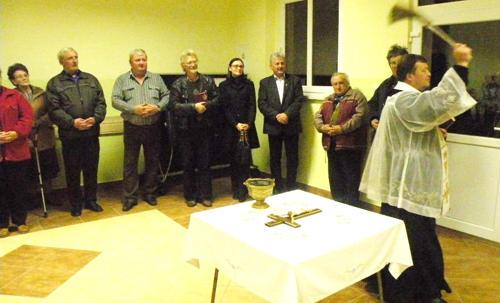 W ubiegłym tygodniu oddano do użytku świetlicę w Konarach (fot. Urząd Gminy Przeworno)