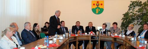 Wystąpienie Aleksandra Beka na ostatniej sesji Rady Gminy Przeworno