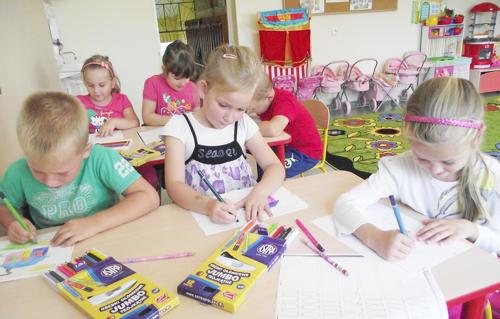 Dzieci z punktu przedszkolnego w Sarbach do tej pory nie miały zajęć z religii