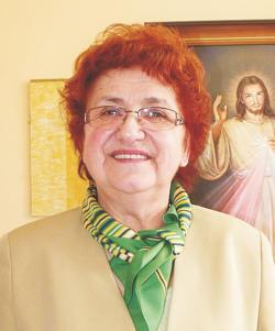 Anna Kobel, wiceprezes Stowarzyszenia św. Celestyna