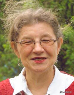 Maria Kostyszak, dr hab. filozofii, mieszkanka Gęsińca