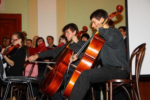 W auli LO zagrali profesjonalni muzycy