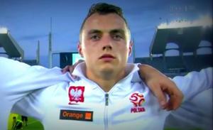 Michał Masłowski zadebiutował w kadrze narodowej w meczu towarzyskim z Norwegami