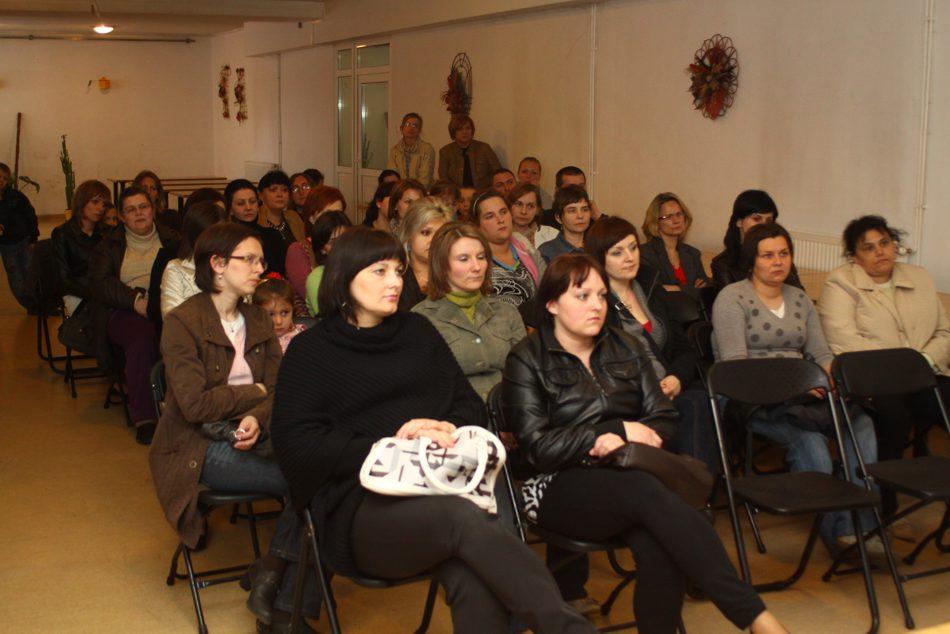 W zebraniu uczestniczyło około 50 rodziców
