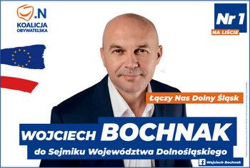 Wojtek Bochnak - wybory 2018
